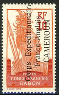 Cameroun 1915 Y&T N. 42  - 10 C. Rosso E Carminio Soprastampato Corps Expèditionnaire Franco-Anglais MLH Cat. € 40 - Unused Stamps
