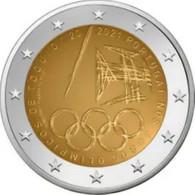 Portugal 2021    2 Euro Comm.   Olympische Spelen In Tokio - Jeux Olympiques !!    UNC Uit De Rol  UNC Du Rouleaux  !! - Portugal