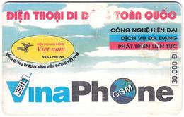 VIETNAM A-110 Chip Cardphone - Culture, Monument - Used - Vietnam