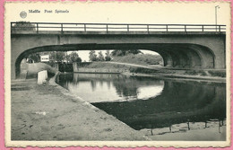 C.P. Maffle  =   Le  Canal  Nimy - Blaton - Péronnes  :  PONT  SPITAELS - Ath
