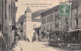 SAINT-RAMBERT-en-BUGEY - Grande Rue - Le Centre - Fontaine, Coiffeur - Otros Municipios