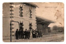 Carte Postale Ancienne - Non Circulé - Dép. 17 - AIGREFEUILLE - La Gare - Carte 2ième Choix, Taches Et Usures - Otros Municipios
