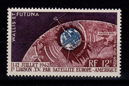 Wallis Et Futuna - YV PA 20 N** Luxe , Telecommunications Spatiales, Satellite Cote 4,30 Euros - Ungebraucht