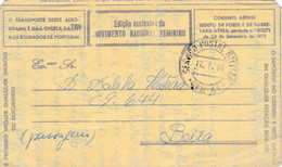 Aerograma-serviço Postal Militar - Covers & Documents