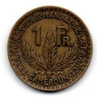 Cameroun  1 Franc 1924 TTB - Cameroon