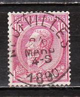 46  Oblitération Centrale NEUFVILLES - LOOK!!!! - 1884-1891 Leopold II.