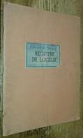 Registre De Logeur (Éditions Servir) (Rennes) - Non Classés