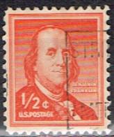 USA 85 - ETATS UNIS N° 598 Obl. Franklin - Gebraucht