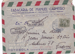 TABACARIA MANUEL CARNEIRO-RETORNO 2X - Covers & Documents