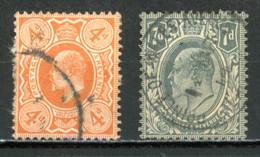 GB   Y&T   122 - 123   Obl    ---     Bel état. - Usados
