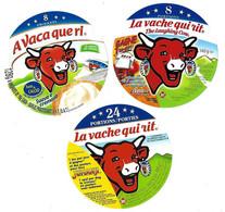 Lot De 6  étiquettes De VACHE QUI RIT   Neuves - Cheese