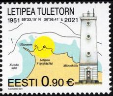 Estonia - 2021 - Letipea Lighthouse - Mint Stamp - Estonia