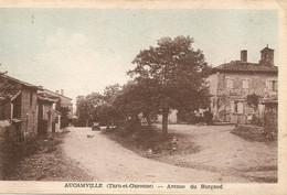 AUCAMVILLE  82  Tarn Et Garonne  ; Avenue    Du  Burgaud - Andere Gemeenten