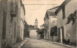 D47  ALLEMANS DU DROPT  Rue De L'Église - Andere Gemeenten