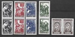 Sarre YT N° 263/267 En Paires Neufs ** MNH. TB. A Saisir! - Unused Stamps