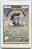Léon Dubreuil Maxime Gourhand L'Archipel Des Sept Îles SI Trégastel Perros-Guirrec 1964 Port Fr 3,86 € - Bretagne