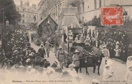 35 Rennes , Fetes Des Fleurs 1910 - Rennes