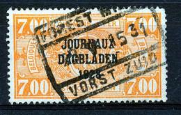 """JO 14  -  """"FOREST-MIDI - VORST-ZUID"""" - (ref. 34.322) - Dagbladzegels"""