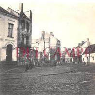Hénin Liétard - Beaumont En 1918 - Rue En Ruine - WW1 Guerre 14 - 18 - Guerra, Militari