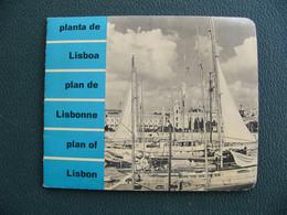1965 Plan De Lisbonne Portugal Planta De Lisboa Plan Of Lisbon - Other
