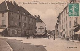 39 Lons Le Saunier, Rue Lecourbe Et Ruines De Montmorot - Lons Le Saunier