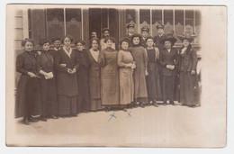 CPA OISE.BEAUVAIS.ANCIEN BUREAU PTT 1907. CARTE PHOTO - Beauvais