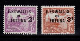 Wallis & Futuna - YV Taxe 9 & 10 N* (legere) Très Frais , Cote 40 Euros - Postage Due