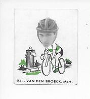 Van Den Broeck Mart -Baanreuzen-Géants De La Route-nr 157-Belgian Chewing Gum Cy S.A.-Antwerp - Cycling
