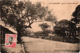Viêt-nam - Cap St-jacques - Jardin Et Place Du Marché - Vietnam