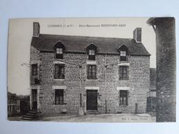 CPA - Coësmes (35) - Hôtel-Restaurant Hoisnard-Alix, Non Voyagée, Dos Vert - Non Classificati