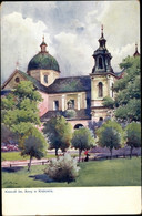 Artiste CPA Kraków Krakau Polen, Kosciol Sw Anny - Poland