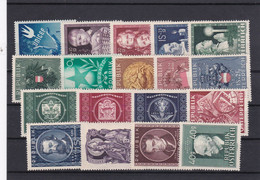 Österreich, Kpl. Jahrgang 1949** (Kk 6976) - Full Years