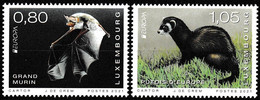 Europa Cept - 2021 - Luxemburg, Luxembourg - 2.Stamps - (Wildlife) ** MNH - 2020