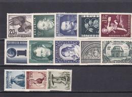 Österreich, Kpl. Jahrgang 1952** (T 20254) - Full Years