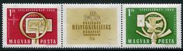 HUNGARY 1958 National Stamp Exhibition MNH / **.  Michel 1553-54 - Ungebraucht