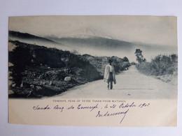 CPA - Espagne - Islas Canarias - Tenerife, Peak Of Teyde Taken From Matanza, Animée, Voyagée En 1902 - Tenerife