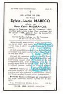 DP Sylvie Lucie Mareco ° Poperinge 1860 † 1945 X Karel Malbrancke - Santini