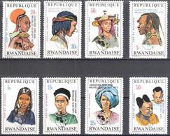Rwanda Ruanda 1973 OCBn°  553-560 *** MNH Cote 6,50 Euro Quinzaine Africaine Brussel - 1970-79: Nuevos