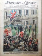 La Domenica Del Corriere 2 Giugno 1918 WW1 Principe Galles Resnati Ponte Legno - War 1914-18