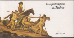MADEIRA Markenheftchen 4, Gestempelt, Transportmittel Auf Madeira 1984 - Madeira