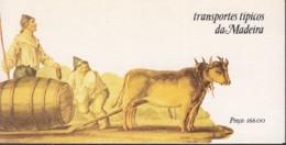 MADEIRA Markenheftchen 5, Postfrisch **, Transportmittel Auf Madeira 1985 - Madeira