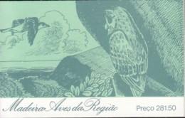 MADEIRA Markenheftchen 7, Postfrisch **, Endemische Vögel 1987 - Madeira