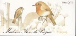 MADEIRA Markenheftchen 8, Postfrisch **, Endemische Vögel 1988 - Madeira