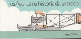 AZOREN  Markenheftchen 7, Postfrisch **, Geschichte Der Luftfahrt: Flugzeuge 1987 - Azores