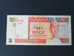 CUBA 3 PESOS 2006 CONVERTIBLES - Cuba