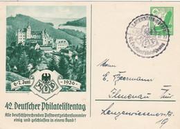 Deutsches Reich Privat Postkarte Mit Sonderstempel 1936 - Private