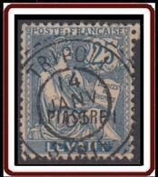 Levant Bureaux Français 1902-1922 - Tripoli / Syrie Sur N° 17 (YT) N° 17 (AM). Oblitération De 1905. - Gebraucht