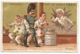 Chromo Liebig 1 Chromo De La Série S_0044 Enfants Avec Pots 1873 (Etat Convenable) - Liebig