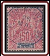 Madagascar 1889-1906 - N° 38 (YT) N° 38 (AM) Oblitéré De Tananarive. - Gebraucht