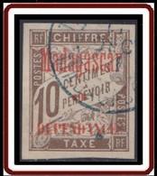 Madagascar 1889-1906 - Timbre-taxe N° 2 (YT) N° 2 (AM) Oblitéré. - Portomarken